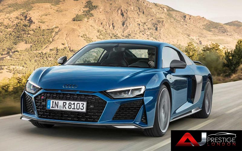 New Audi R8 Facelift